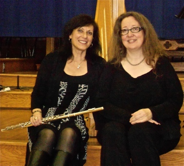 Susan Piltch, flute and piano & Sharlene