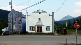 Sunset Theatre - Wells, BC photo by Sharlene Wallace