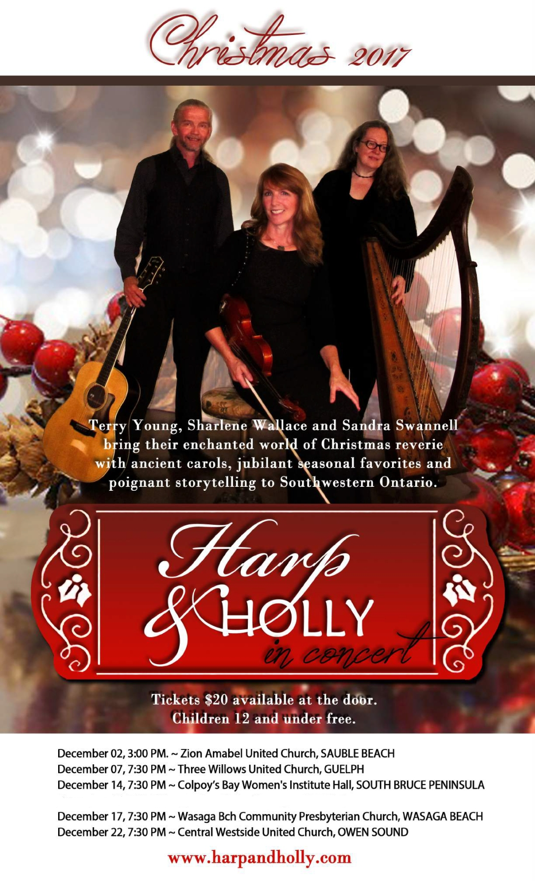 Harp & Holly 2017 POSTER